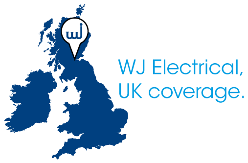 wj electrical uk map coverage